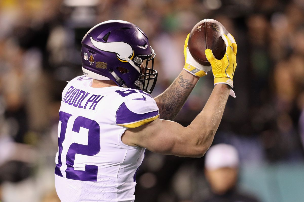 low priced b348e 3fb81 Vikings' Kyle Rudolph: What to expect - Daily Norseman