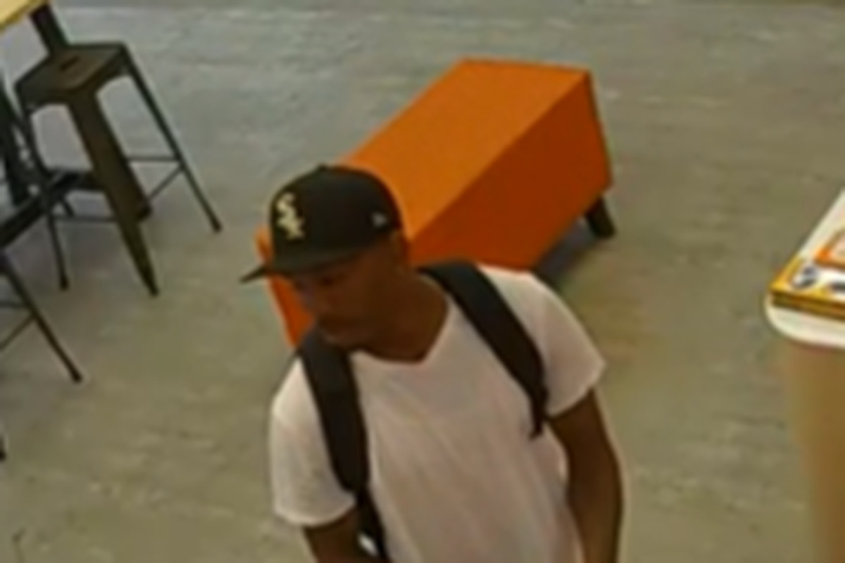 Man wanted for stealing merchandise from Grand Crossing stores