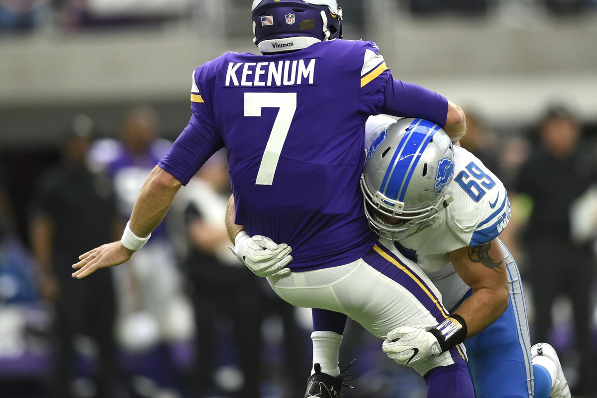 outlet store 5aa2d 6cdf3 2017 Detroit Lions roster review: Anthony Zettel exceeded ...