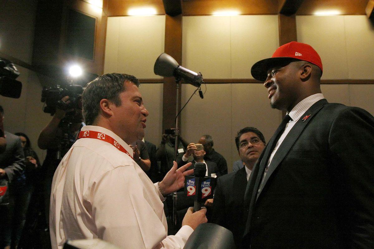 NFL: Tampa Bay Buccaneers-Press Conference