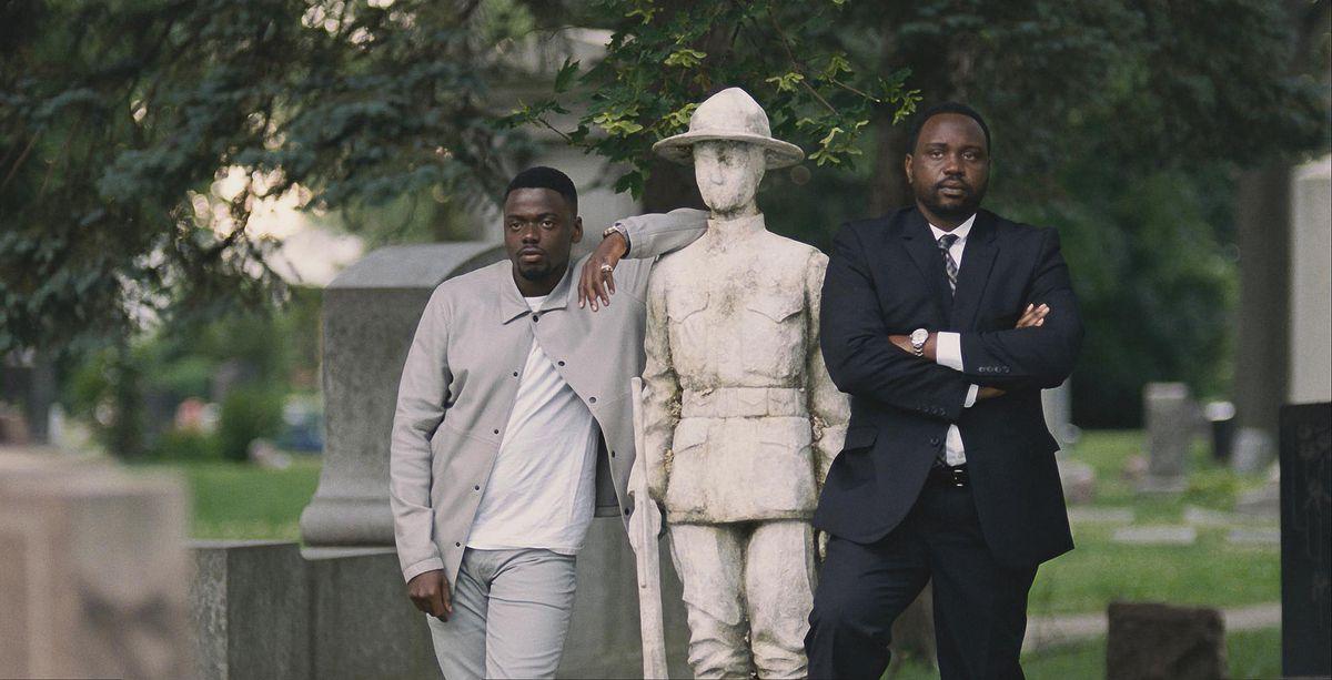 Daniel Kaluyya and Brian Tyree Henry in Widows