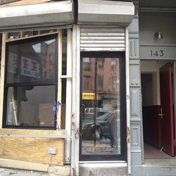 """Dimes Cafe, coming to Division Street near Canal. [Photo: <a href=""""http://bedfordandbowery.com/2013/07/dimes-cafe-will-bring-a-little-bit-of-la-to-chinatown-les-border/"""">Bedford + Bowery</a>]"""
