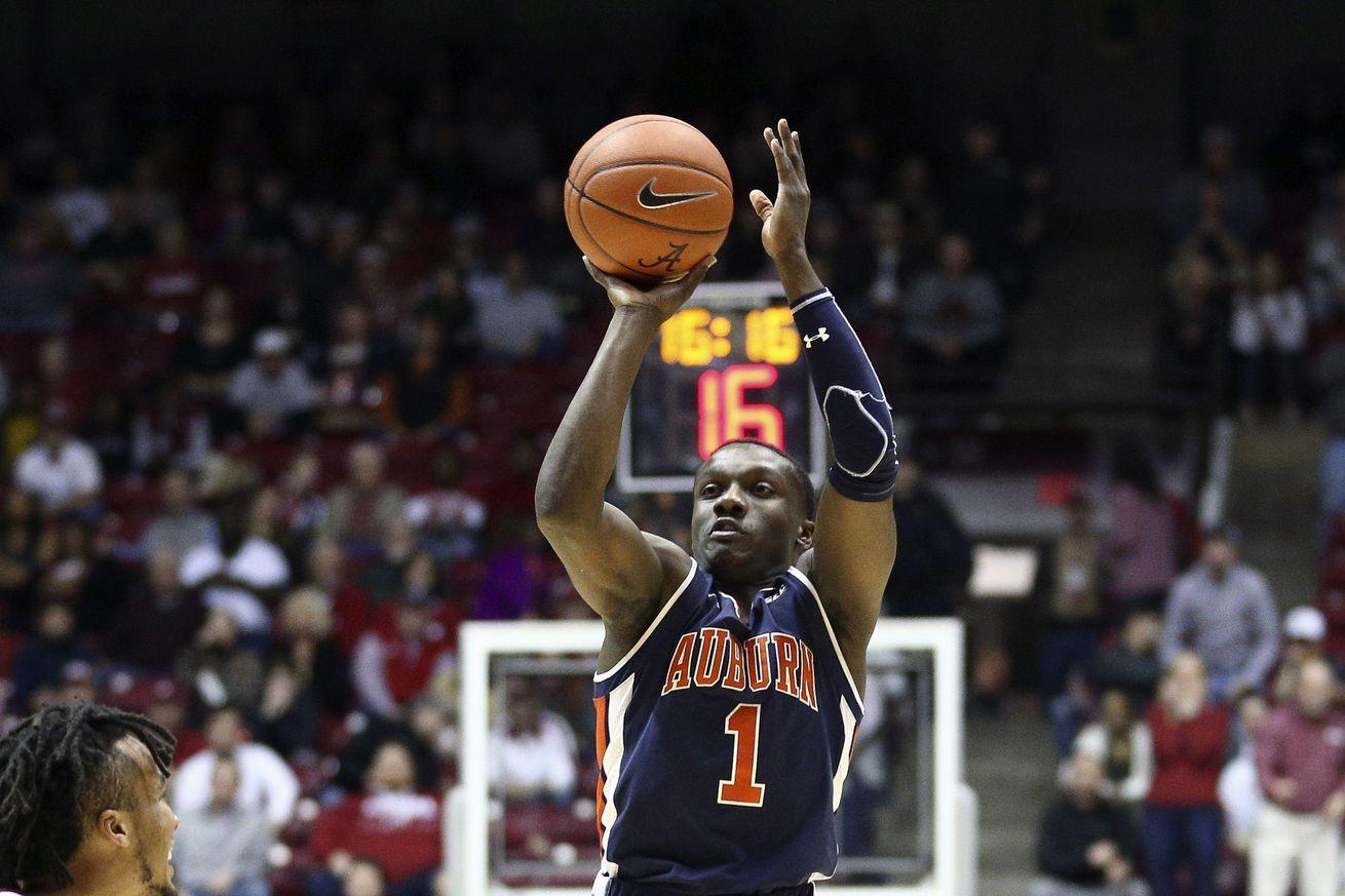NCAA Basketball: Auburn at Alabama