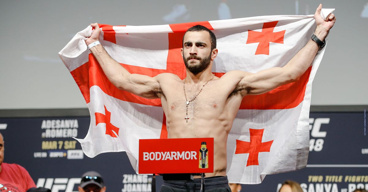 Giga Chikadze withdrawal from UFC Vegas 8 was due to positive COVID-19 test