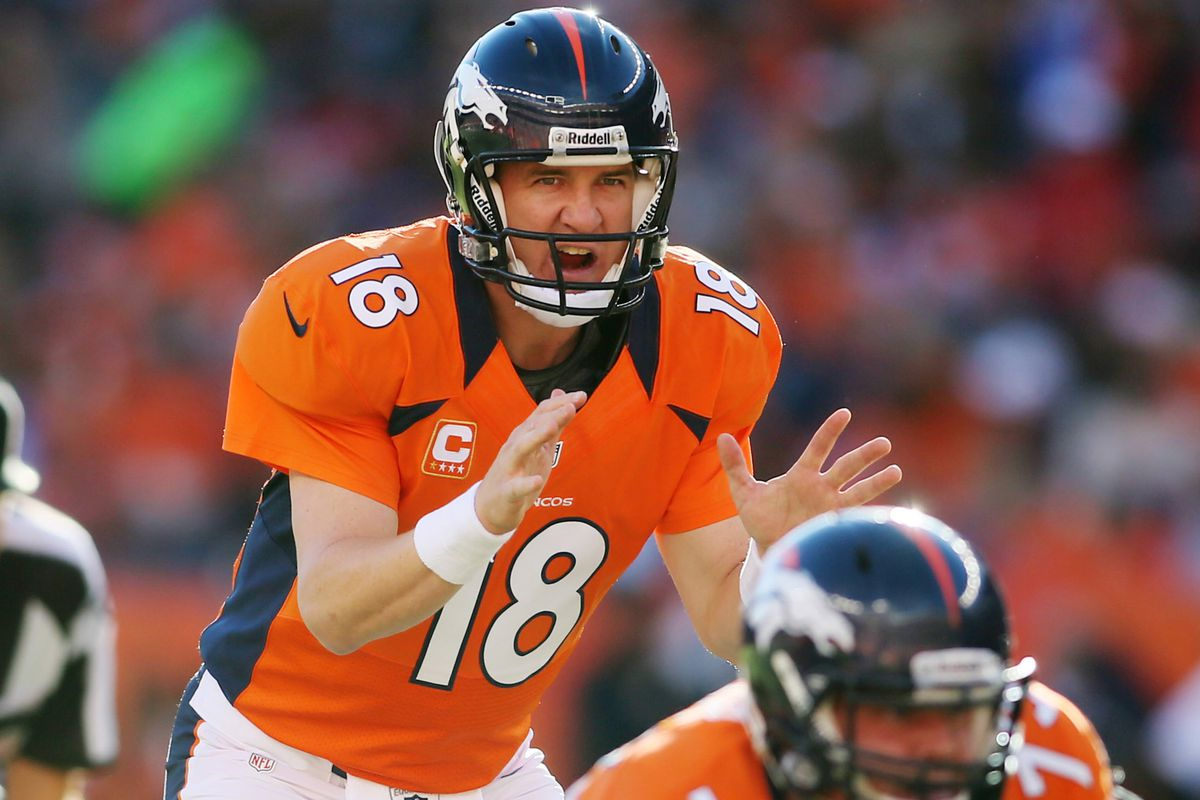 We'll be rooting for Peyton Manning today here on Denver Stiffs.