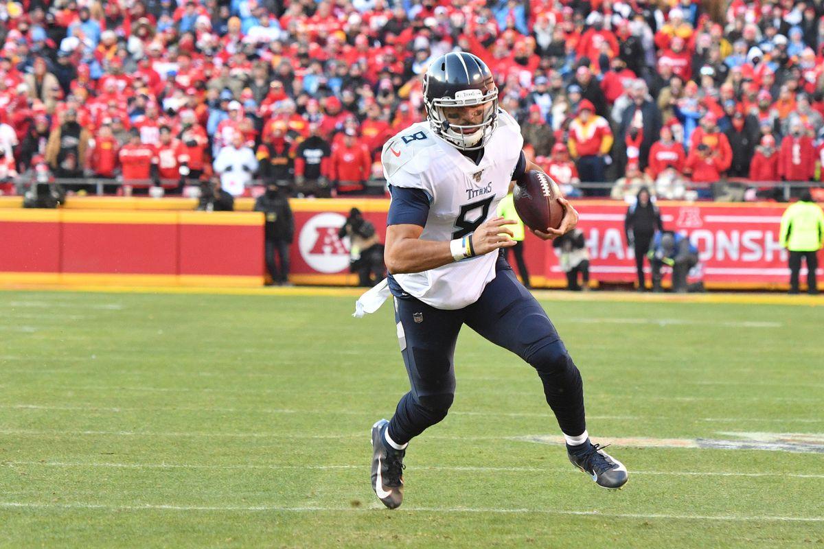 NFL: AFC ChamMarcus Mariotapionship-Tennessee Titans at Kansas City Chiefs