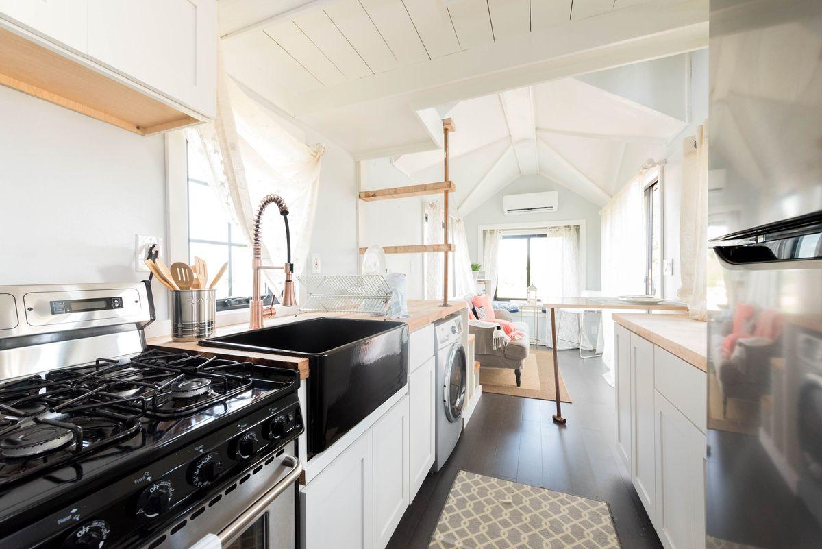 Tiny home kitchen
