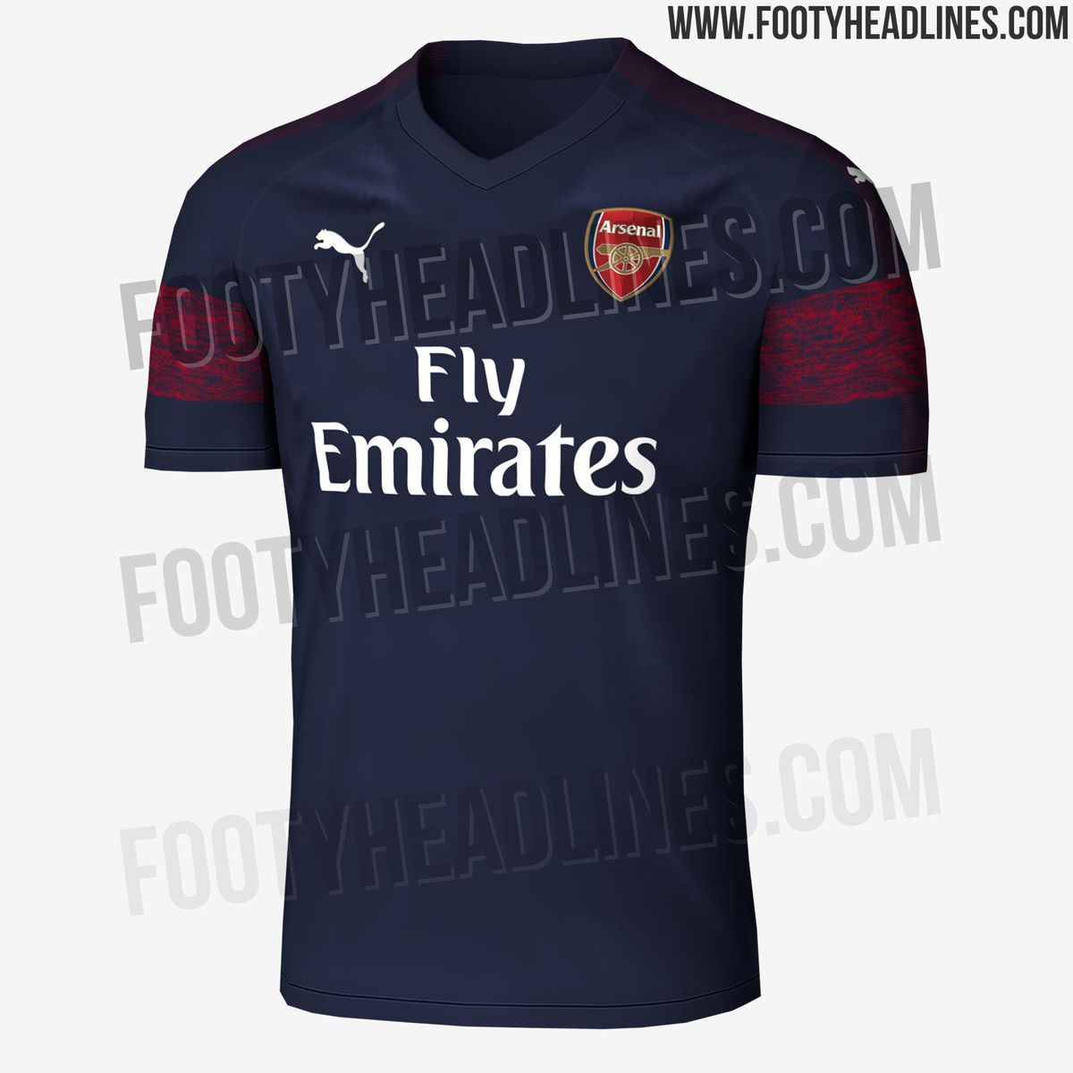 dos semanas víctima Predicar  Arsenal's final Puma away kit leaked - The Short Fuse