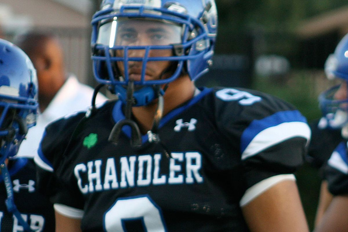 DE Richard Winston - Chandler HS (AZ)