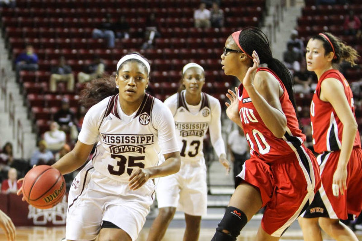 Victoria Vivians (35) picked up SEC Freshman of the Week Honors