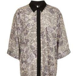 "<a href=""http://www.topshop.com/webapp/wcs/stores/servlet/ProductDisplay?beginIndex=0&viewAllFlag=&catalogId=33057&storeId=12556&productId=11052102&langId=-1&categoryId=&searchTerm=reclaim%20to%20wear&pageSize=200"">Oversize Floral Shirt</a>, $90"