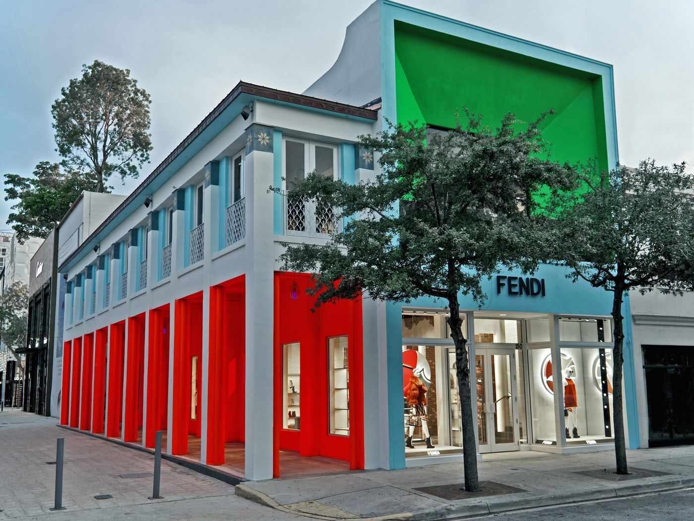 Your Fendi Fantasy Has Opened In Miamis Design District