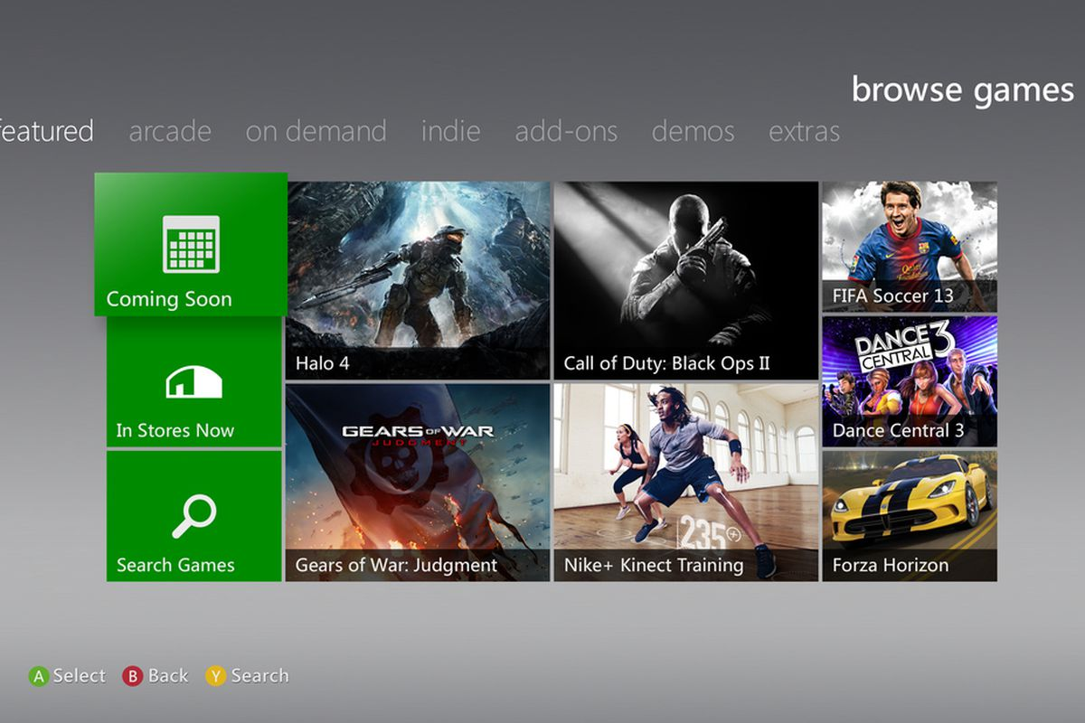 New Xbox LIVE dashboard rolls out today - Polygon