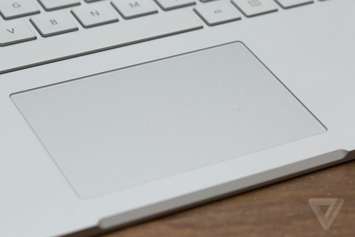 Surface Book trackpad