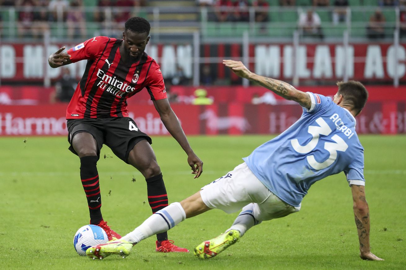 AC Milan Midfielder Faces Racist Abuse In Debut Match Against Lazio and Picks Up Injury