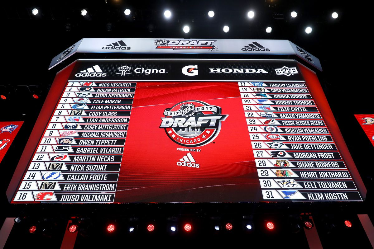 nhl draft 2017 start time tv channel order and