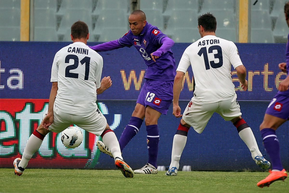 Hopefully Astori has a better career in purple than another guy in this picture.