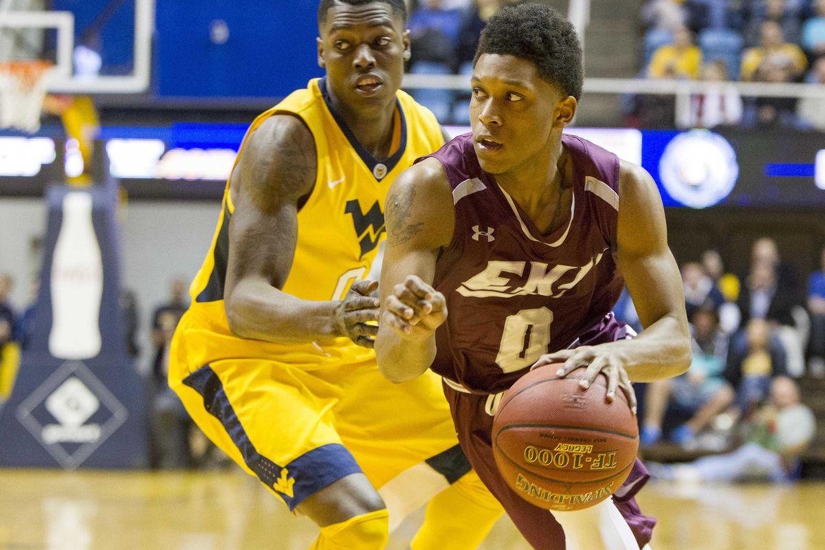 NCAA Basketball: Eastern Kentucky at West Virginia