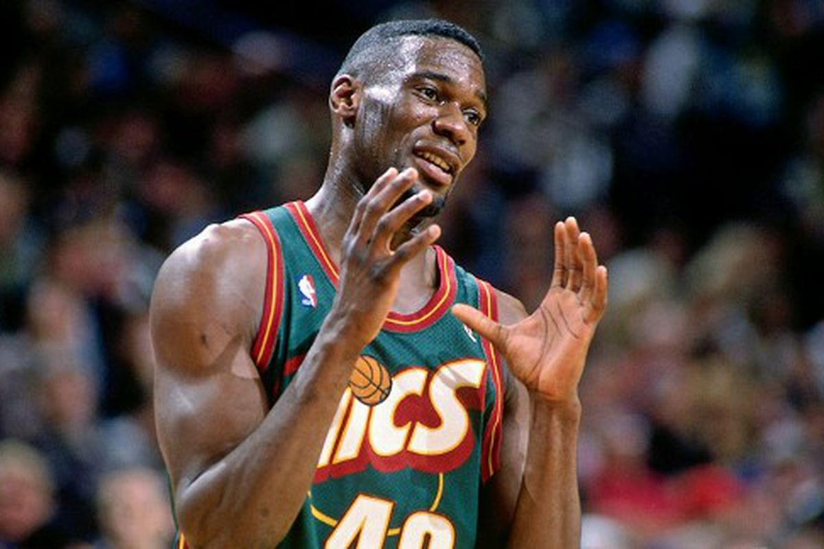 Shawn Kemp shows the Thunder how close they have been to a 3-1 lead.