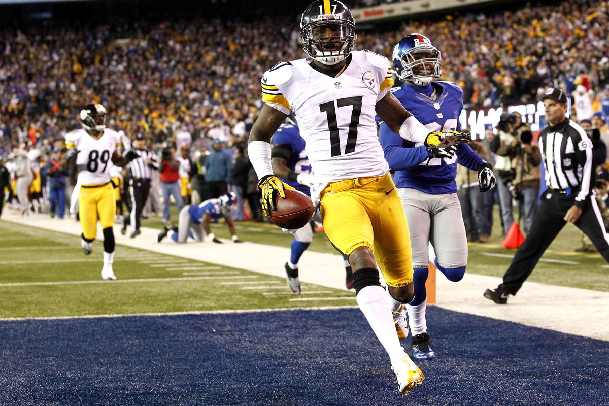 mike wallaces touchdown catch in chiefssteelers game was