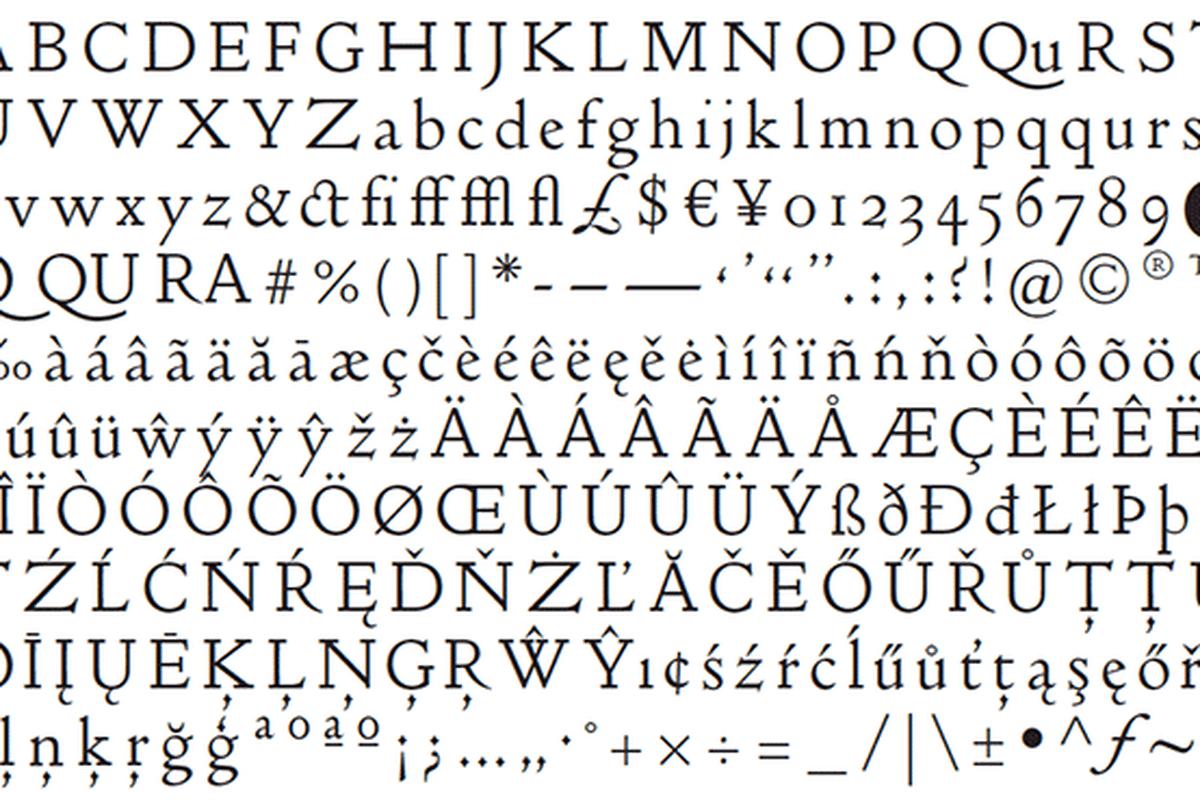 Doves font