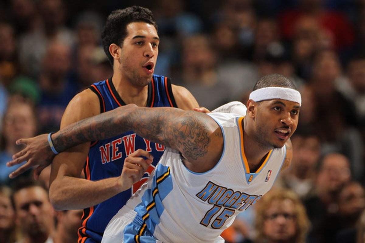Rookie Landry Fields's name has been popping up in Melo trade talk recently, with good reason.
