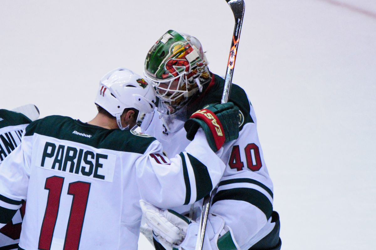 Parise and Dubnyk make for a lot of this week's discussion on the podcast.