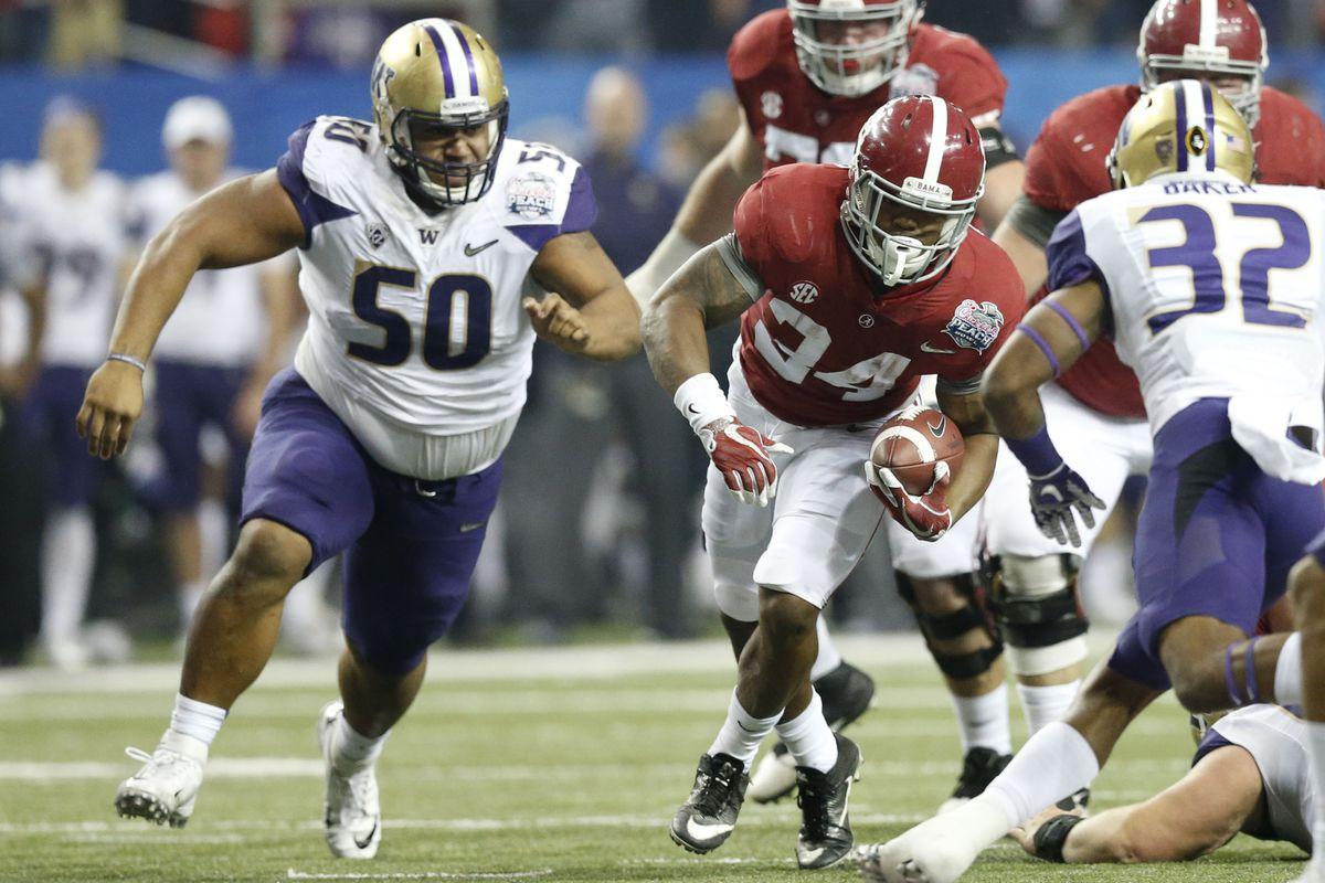 NCAA Football: Chick-fil-A Peach Bowl-Alabama vs Washington