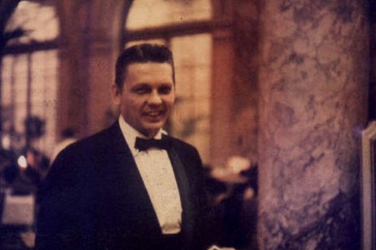 A maitre d', 1959 or 1960.