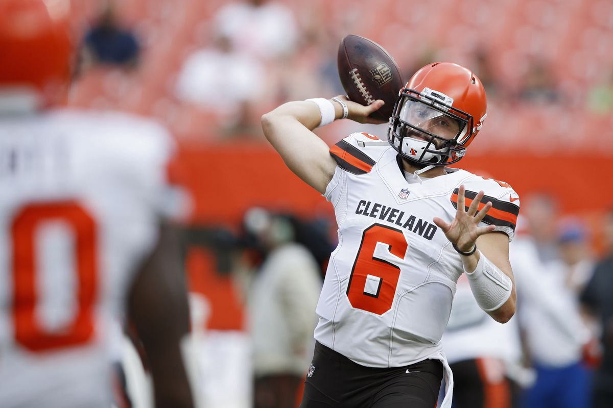 Image result for BAKER MAYFIELD BROWNS  IMAGES