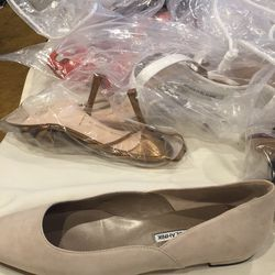 Suede flat, size 37.5, $125
