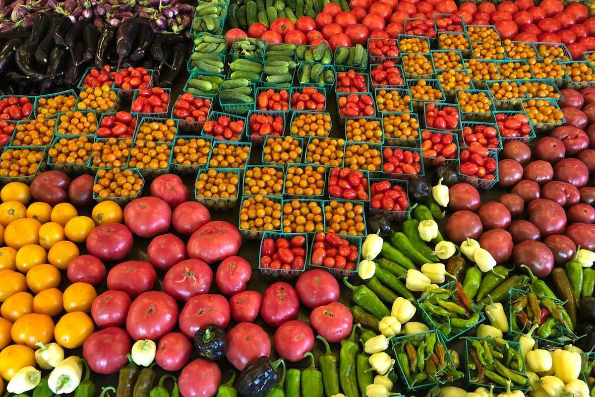 The produce at Springdale Farm