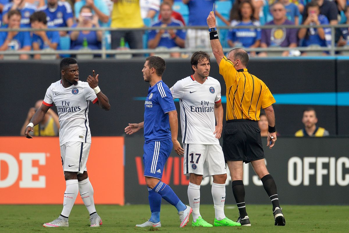 Just more bad romance between Chelsea, PSG.