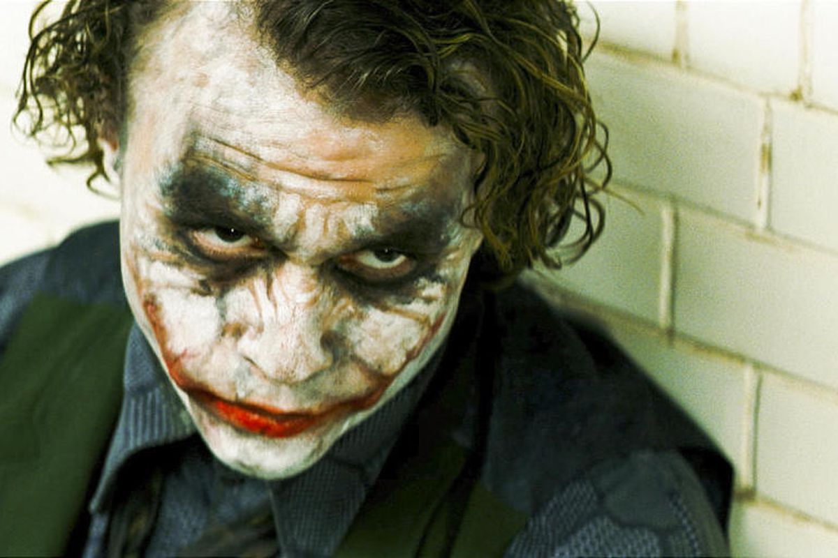 """Heath Ledger starred as The Joker in """"The Dark Knight."""" There was no attempt to explain or justify The Joker in the film."""