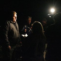 About 2:30 am Thursday morning Sgt. Eldon Packer with the Utah County Sheriff's office informs the media that the man stuck in the Nutty Putty Cave died around midnight Wednesday night and that they sent the rescuers home and will resume the evacuation Thursday morning.
