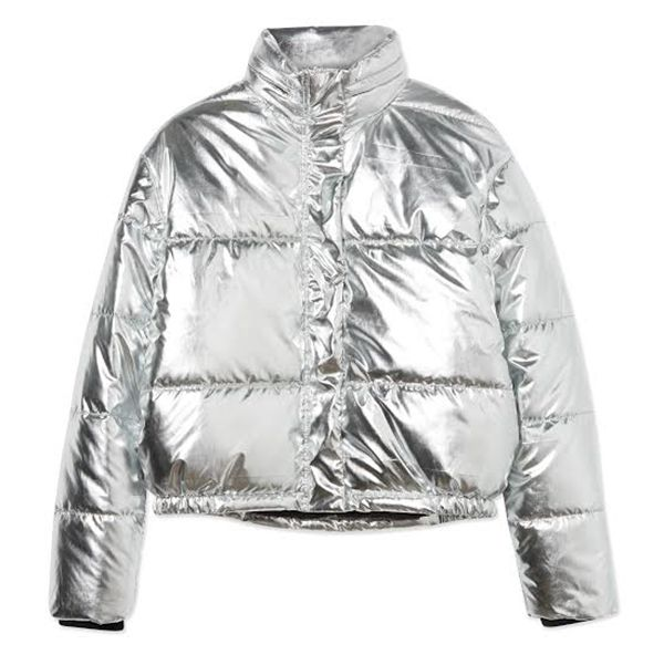 Cotton On Tyra Cropped Puffer
