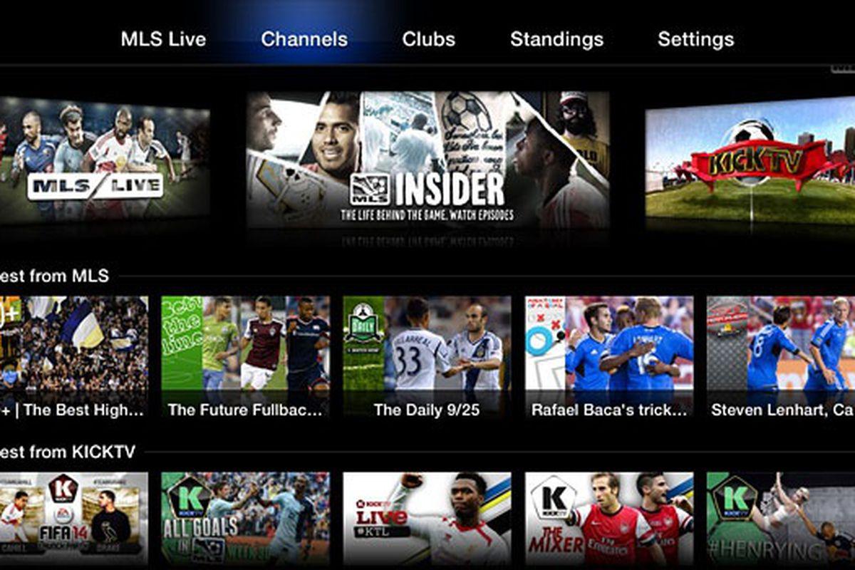 Major League Soccer Apple TV
