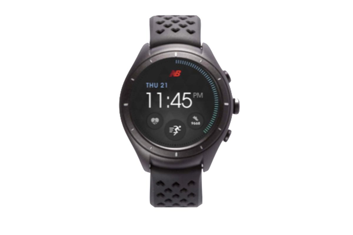 5a281617e4c5d The RunIQ, New Balance's first Android Wear smartwatch, is now ...