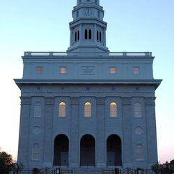 The rebuilt Nauvoo Illinois Temple