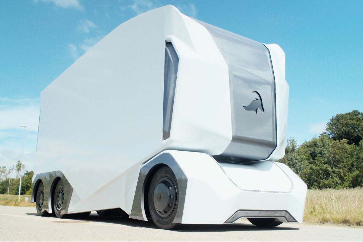 This Self Driving Truck Has No Room For A Human Driver Literally