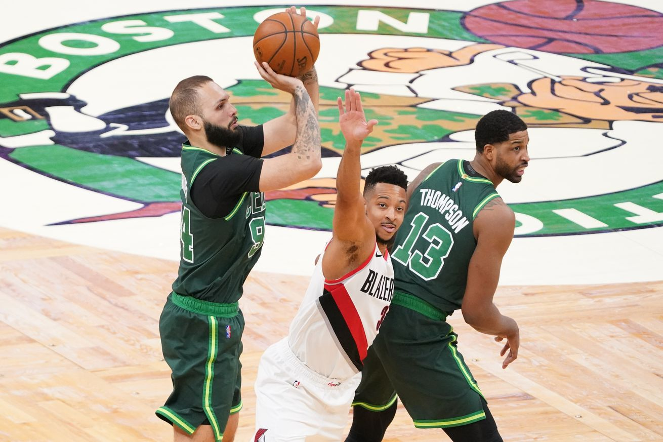 NBA: Portland Trail Blazers at Boston Celtics
