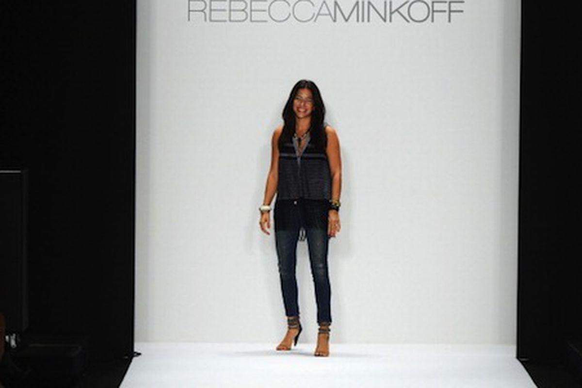 Designer Rebecca Minkoff. Image via Getty.