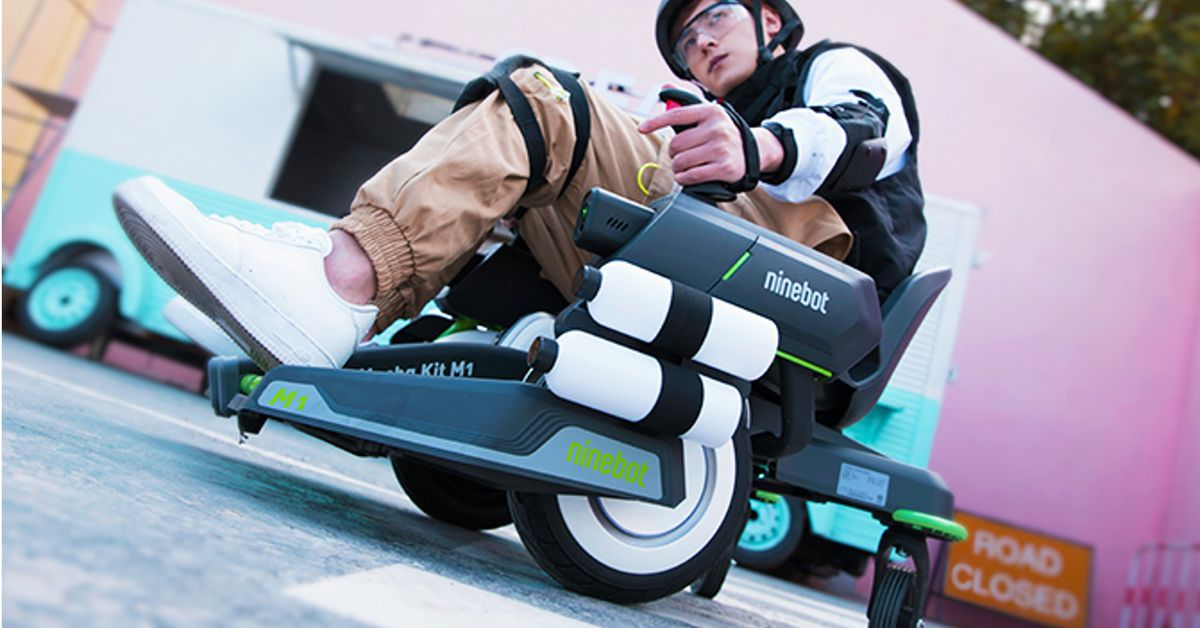 Segway's 'Mecha Kit' turns your transporter into a rolling turret
