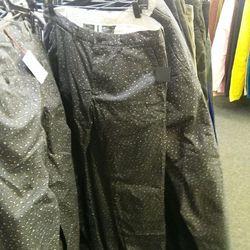 Stock pants for men