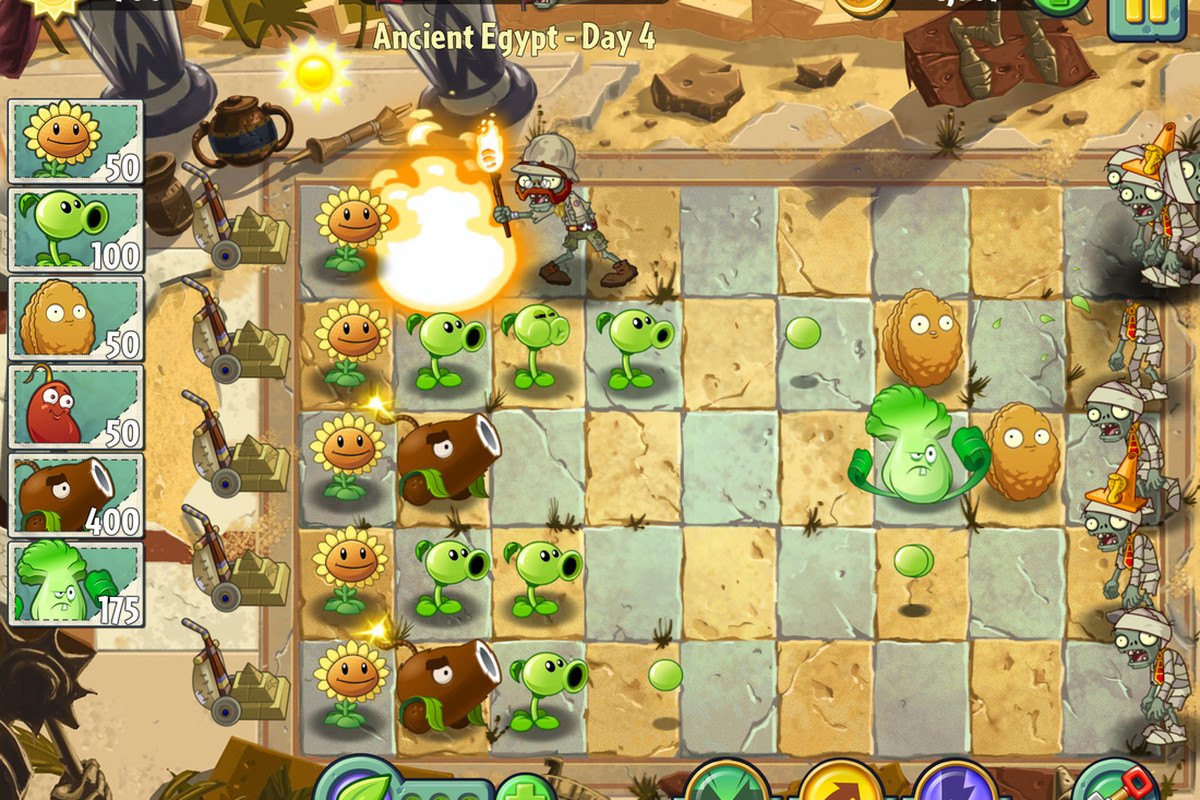 Plants vs Zombies 2' is now on Android - The Verge