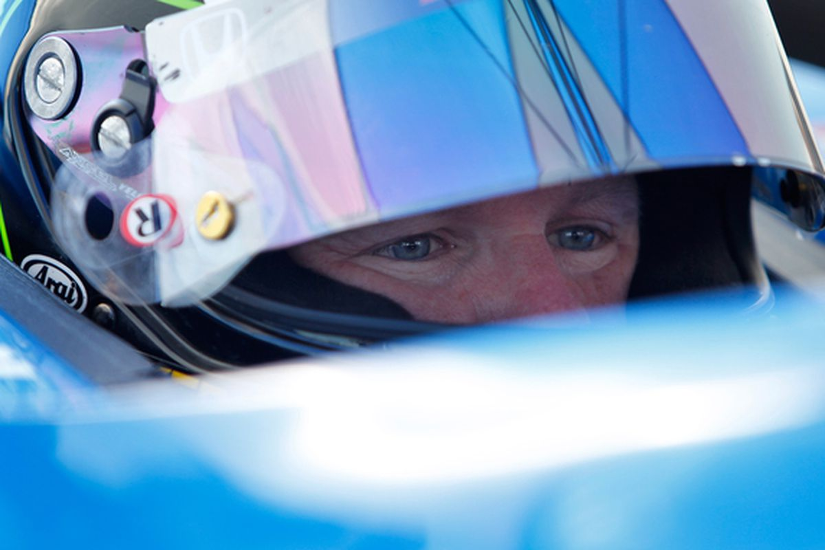 Paul Tracy has a ride with Dreyer & Reinbold Racing for Indianapolis - and possibly more - with WIX Filter sponsorship. (Photo by Jonathan Ferrey/Getty Images)
