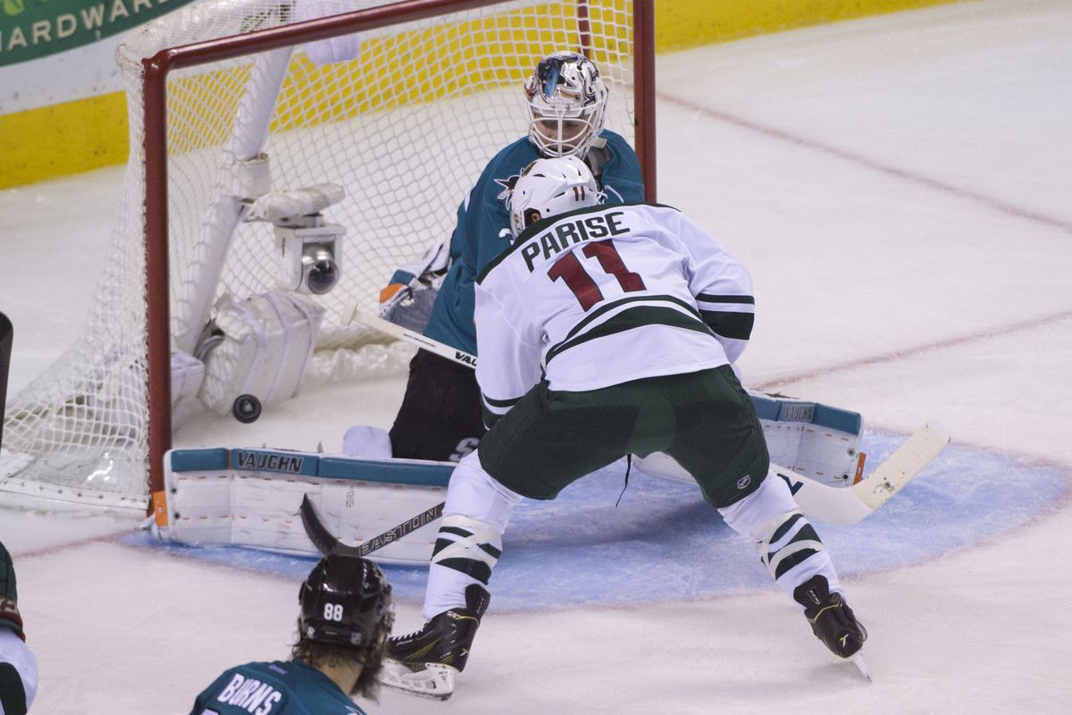 Zach Parise is on a roll.