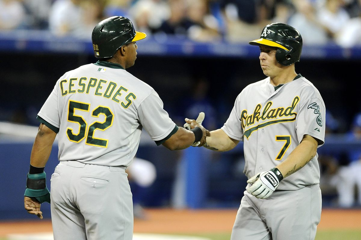 Is BFI getting enough RBI? Or do the A's need a better ROI on their OBP to avoid runners being LOB? Please LMK, ASAP. KThx.