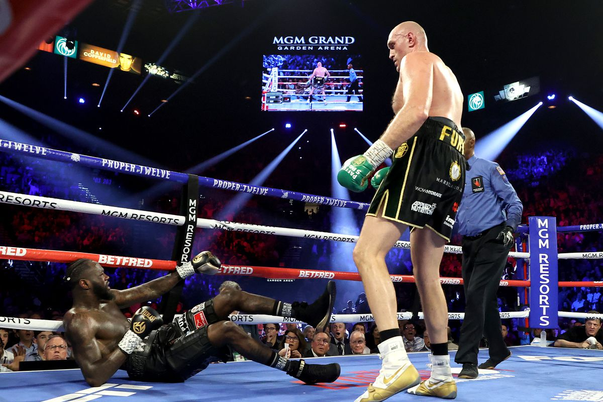 Tyson Fury Wilder 2