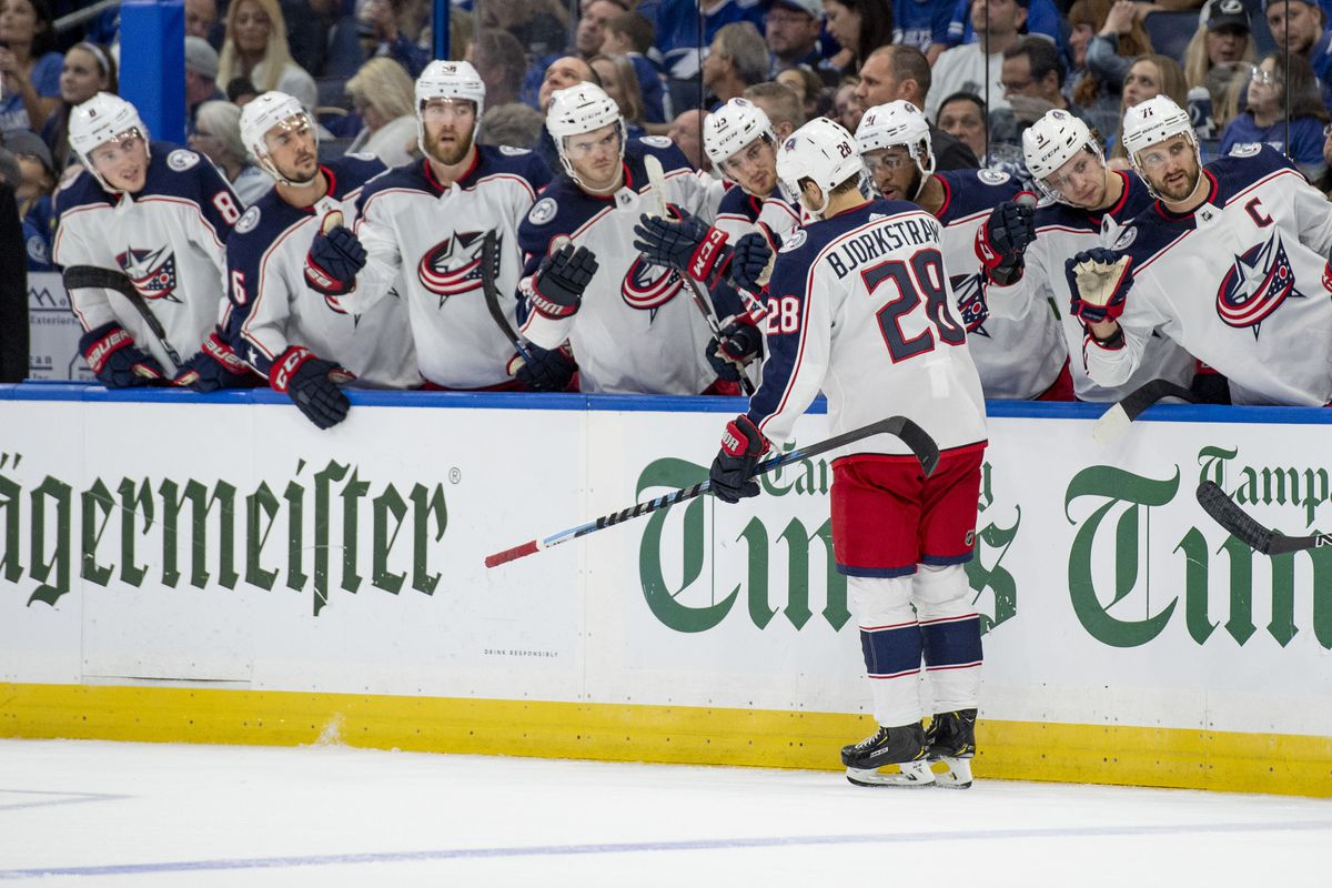 7177e0821 Game  42 Preview  Blue Jackets Face Tough Test at Lightning - The Cannon